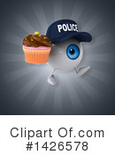 Eyeball Character Clipart #1426578 by Julos
