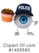 Eyeball Character Clipart #1426580 by Julos