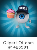 Eyeball Character Clipart #1426581 by Julos