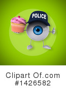 Eyeball Character Clipart #1426582 by Julos
