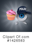 Eyeball Character Clipart #1426583 by Julos