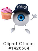 Eyeball Character Clipart #1426584 by Julos