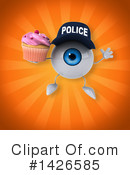 Eyeball Character Clipart #1426585 by Julos