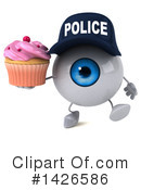 Eyeball Character Clipart #1426586 by Julos