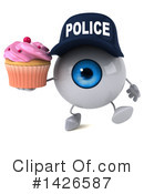 Eyeball Character Clipart #1426587 by Julos