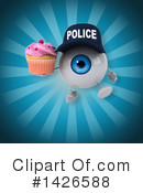 Eyeball Character Clipart #1426588 by Julos