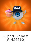 Eyeball Character Clipart #1426590 by Julos