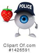 Eyeball Character Clipart #1426591 by Julos