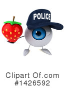 Eyeball Character Clipart #1426592 by Julos