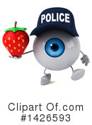 Eyeball Character Clipart #1426593 by Julos