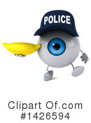 Eyeball Character Clipart #1426594 by Julos