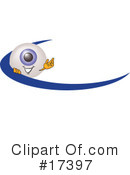 Royalty-Free (RF) eyeball character Clipart Illustration #17397
