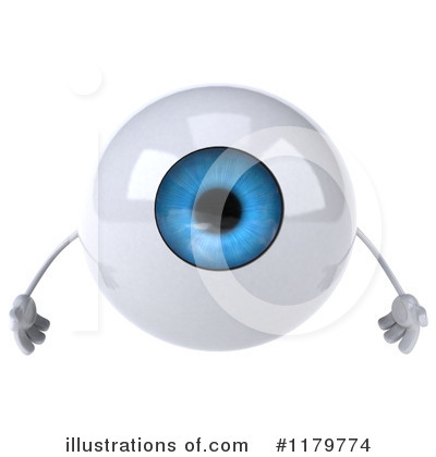 Eyeball Character Clipart #1179774 by Julos