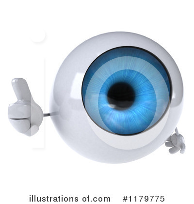 Eyeball Character Clipart #1179775 by Julos