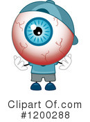 Eyeball Clipart #1200288 by BNP Design Studio