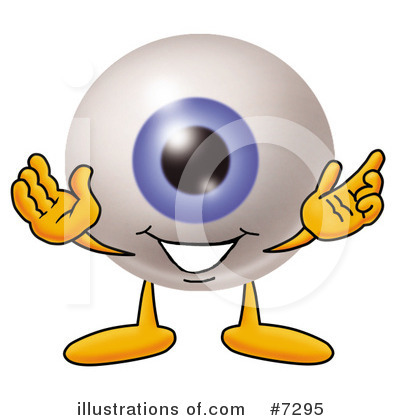 Eyeball Clipart #7295 by Toons4Biz