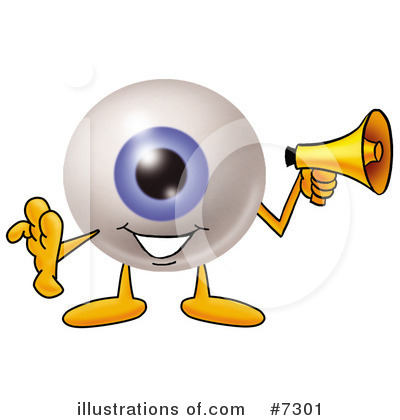 Eyeball Clipart #7301 by Toons4Biz