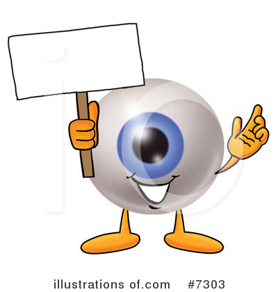 Eyeball Clipart #7303 by Toons4Biz