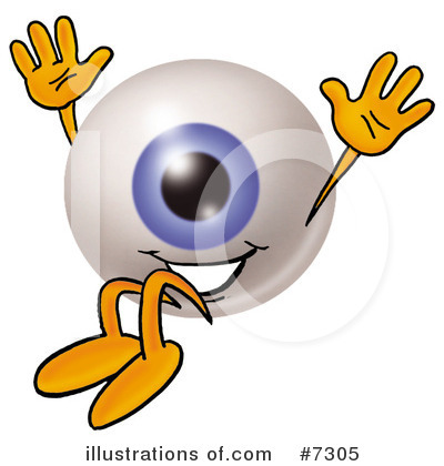Eyeball Clipart #7305 by Toons4Biz