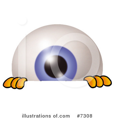 Eyeball Clipart #7308 by Toons4Biz