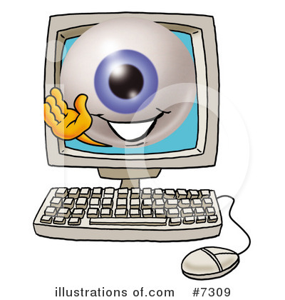 Eyeball Clipart #7309 by Toons4Biz