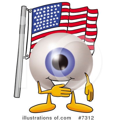 Eyeball Clipart #7312 by Toons4Biz