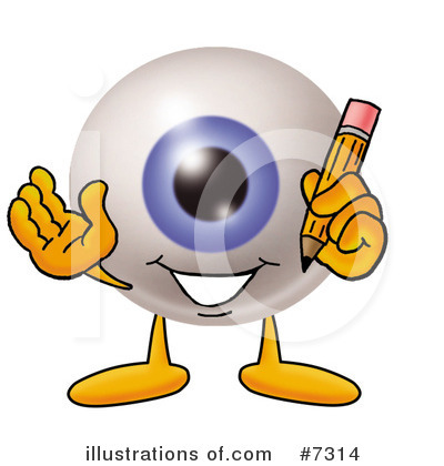 Eyeball Clipart #7314 by Toons4Biz