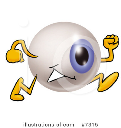 Eyeball Clipart #7315 by Toons4Biz