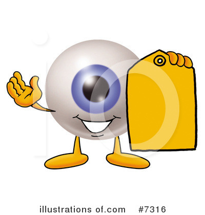 Eyeball Clipart #7316 by Toons4Biz
