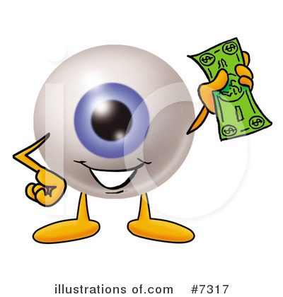 Eyeball Clipart #7317 by Toons4Biz