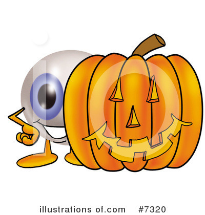 Eyeball Clipart #7320 by Toons4Biz