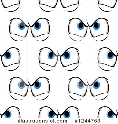 Eyes Clipart #1244763 by Vector Tradition SM