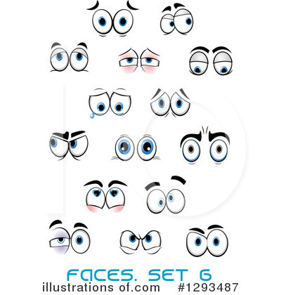 Eyes Clipart #1293487 by Vector Tradition SM