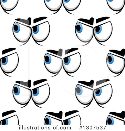 Eyes Clipart #1307537 by Vector Tradition SM