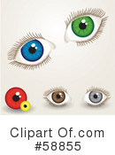 Eyes Clipart #58855 by kaycee