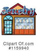 Royalty-Free (RF) facade Clipart Illustration #1159940