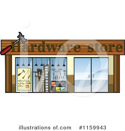 Facade Clipart #1159943 by Graphics RF