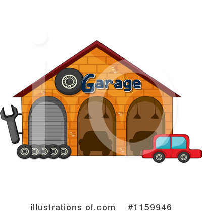 Facade Clipart #1159946 by Graphics RF