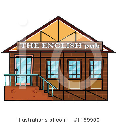 Facade Clipart #1159950 by Graphics RF