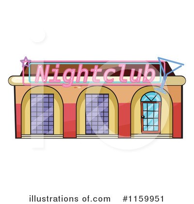 Facade Clipart #1159951 by Graphics RF