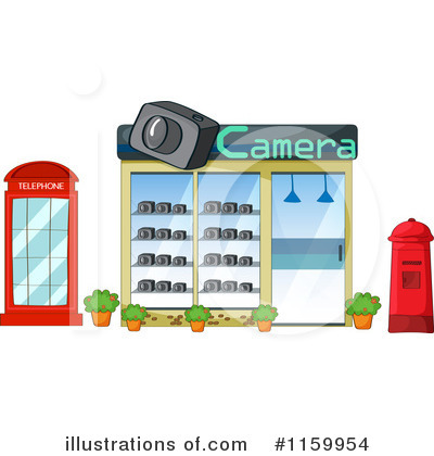 Facade Clipart #1159954 by Graphics RF