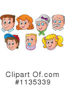 Face Clipart #1135339 by visekart