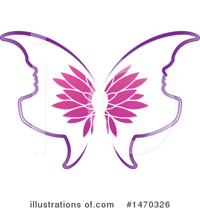 Butterfly Clipart #1470326 by Lal Perera