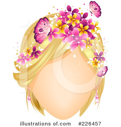 Hairstyle Clipart #226457 by BNP Design Studio