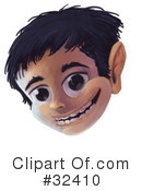 Face Clipart #32410 by Tonis Pan