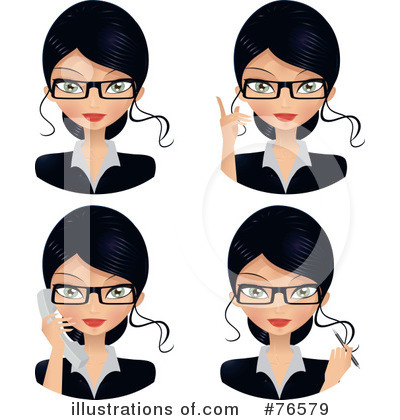 Glasses Clipart #76579 by Melisende Vector