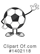 Faceless Soccer Ball Clipart #1402118 by Hit Toon