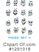 Faces Clipart #1291018 by Vector Tradition SM
