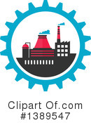 Factory Clipart #1389547 by Vector Tradition SM