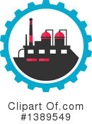 Factory Clipart #1389549 by Vector Tradition SM